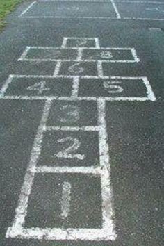 Hopscotch- finally found my playground sport