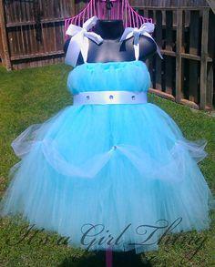 Cinderella Inspired Tutu Dress - Size Newborn - 24 Months