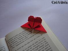Marque page origami