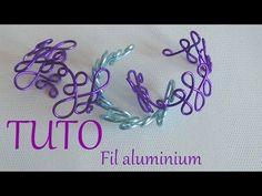 [ TUTO ] bracelet en fil aluminium 1 - YouTube