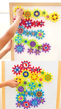 Turn & Learn Magnetic Gears Toy Lakeshore Learning (AD) A fun versatile toy for kids that's great for learning and fine motor skills. Discover the best baby toys for your youngsters Kids Toys For Boys, Best Kids Toys, Diy For Kids, Crafts For Kids, Diy Crafts, Girls Toys, Kids Market, Lakeshore Learning, Felt Toys