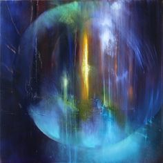 """Annette Schmucker, """"Licht im Dunkel"""" With a click on 'Send as art card', you can send this art work to your friends - for free!"""