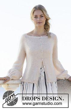 66549a489 Ravelry  200-17 Soft Moonlight Jacket pattern by DROPS design Sweater Knitting  Patterns
