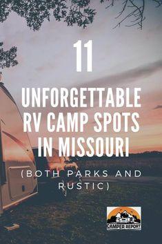 Full hookup kampiranje u Missouriju