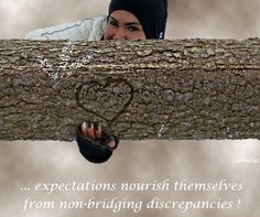 ... #expectations nourish themselves from non-bridging #discrepancies !