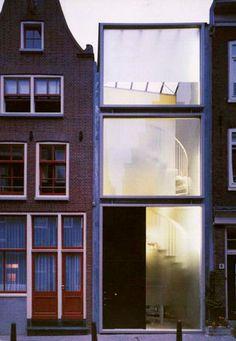 Claus en Kaan Architecten - Haarlemmerbuurt Social Housing, Amsterdam 1995.