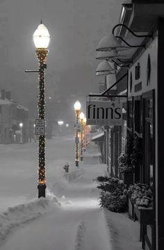 Anytown USA at Christmas