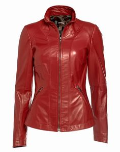 Gorgeous Danier mahroon leather jacket
