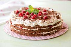 Suklainen marjakakku Tiramisu, Food And Drink, Ethnic Recipes, Sweet, Clay, Fimo, Candy, Clays, Tiramisu Cake