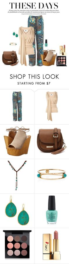 """""""These Days!!!"""" by denibrad ❤ liked on Polyvore featuring Sans Souci, MM6 Maison Margiela, Steve Madden, Cooper St, Ashley Pittman, Tai, OPI, MAC Cosmetics, Yves Saint Laurent and lovinlee"""