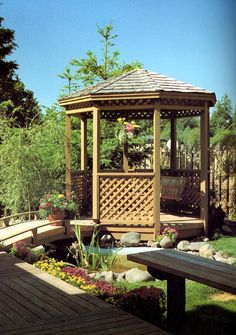 Eight-sided Gazebo - Project Plan 504383