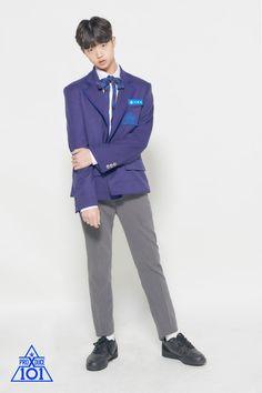 Son Dongpyo Produce X 101 Choi Yoojung, Dsp Media, Love U Forever, Sanha, Produce 101, Boy Bands, Korean Fashion, Suit Jacket, Profile