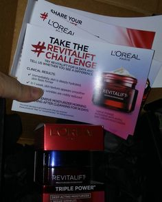 Taking the  #revitaliftchallenge with #L'Oréal! - Thank you so much to @influenster and @lorealskin for sending me this product to test. #contest #gotitfree #complimentary #influencer #influenster  #lifestyleblogger #beauty #skincare #14daychallenge #blogger #moisturizer #beautyaddict #makeuplover #products #voxbox #lorealskin #before