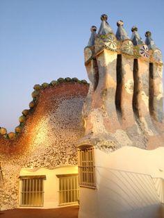 Barcelona, casa Batllo