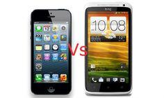 iPhone 5 vs HTC One X