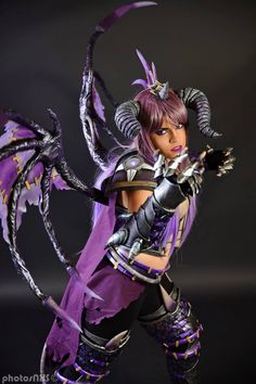 Cosplay: World of Warcraft - Undead Onyxia  Cosplayer: Mohrigan Cosplay