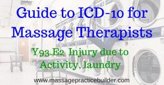 Guide to ICD-10 for Massage Therapists
