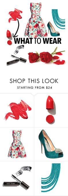 """""""What To Wear???"""" by taylora-3 ❤ liked on Polyvore featuring NARS Cosmetics, Badgley Mischka, Bobbi Brown Cosmetics and BaubleBar"""