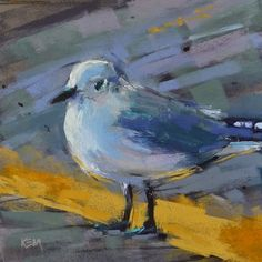 Karen Margulis-Painting My World: Paint Along Monday: Painting a Sea Gull