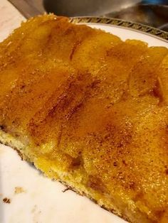 Greek Desserts, Greek Recipes, Cookie Recipes, Dessert Recipes, Sweets Cake, Food Decoration, Apple Cake, Appetisers, Creative Food