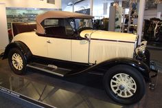 Desoto Six Roadster at the Walter P. Chrysler Museum, Auburn Hills, MI