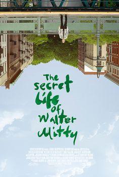 The Secret Life of Walter Mitty (Ben Stiller) Secret Life, The Secret, Life Of Walter Mitty, Walter Mitty Quotes, Film Poster Design, Ben Stiller, Indie Films, Good Movies To Watch, Movie Posters
