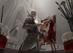 MtG: Blood Artist by algenpfleger on DeviantArt
