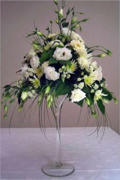 Flowers in a Martini Glass | Martini Glass Arrangement