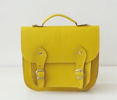 Mustard satchel