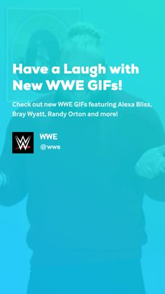 Check out new WWE GIFs featuring Alexa Bliss, Bray Wyatt, Randy Orton and more! Wwe Gifs, Have A Laugh, Lol, Funny, Funny Parenting, Hilarious, Fun, Humor