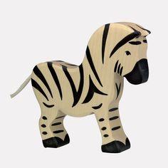 #Zebra - http://www.echtkind.de/holztiere/holztiere-zoo/holztiger-figur-zebra.html
