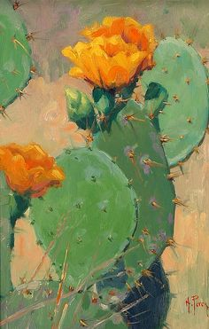 Cactus Arrangement by Noe Perez - Greenhouse Fine Art