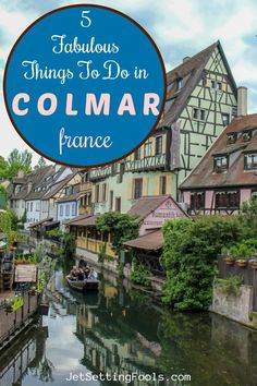 We were drawn to Colmar, France by colorful photographs depicting fanciful scenes of half-timbered houses and quaint canals, both draped in blooming foliage. The weaving cobblestone lanes in the Old Town and cheerful Little Venice Colmar district seemed to be plucked straight from a fairytale – one that had to be seen to be believed. Now that we've been, we can attest to the fact that the town is as pretty as a picture.