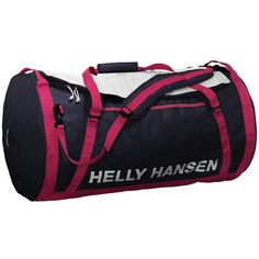 Helly Hansen Women's HH Duffel Bag 2 50L ($91) ❤ liked on Polyvore featuring bags, luggage and evening blue