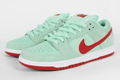 Nike SB Dunk Low - Medium Mint/Gym Red | Sole Collector