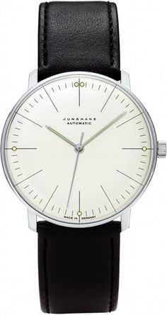 WatchMann.com: Junghans Max Bill Watches