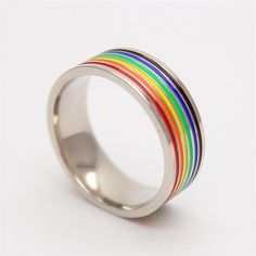Come Out From The Closet LGBT Gay Pride Ring