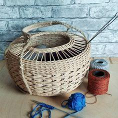 Новости Storage Baskets, Wicker Baskets, Weaving, Home Decor, Decoration Home, Room Decor, Loom Weaving, Crocheting, Home Interior Design