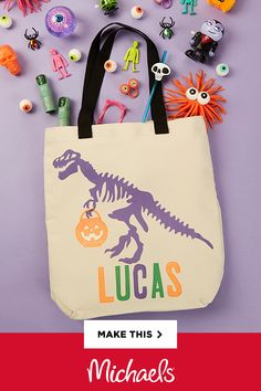Cricut® Infusible Ink™ is new technology that results in permanent and professional transfers. The easy to use material cuts beautifully with your Cricut® machine and use your Easy Press™ 2 to heat transfer! Make this Spooky Trick or Treat Tote for your little monster and see for yourself just how vibrant the colors are when transferred!