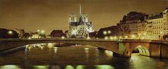 Paris Bye Night sur le Pont de la Tournelle