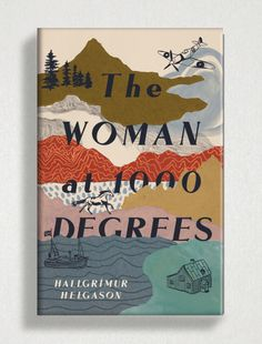 The Woman at 1000 Degrees, killed cover design by Tree Abraham Book Cover Design, Book Design, Book Jacket, Illustration, Book Art, Design Inspiration, Design Ideas, Diy, Symbols