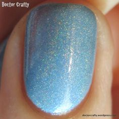 Blue-Eyed Girl Lacquer: The Innuendo Squad (It Got Away From Me, Yeah... Collection: The Gents of Doctor Who) #blueeyedgirllacquer #begl #beglove #swatch #indiepolish