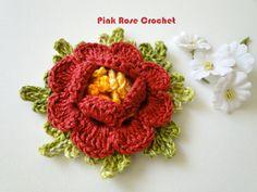 PINK ROSE CROCHET: Carpet