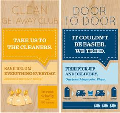 Best Cleaners Communications and Retail by Breakhouse , via Behance