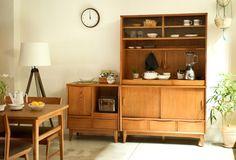 SIGNE(シグネ) キッチンボード W1190 ブラウン | ≪unico≫オンラインショップ:家具/インテリア/ソファ/ラグ等の販売。
