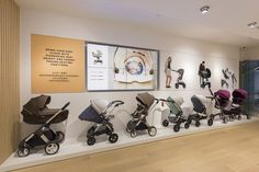Stokke flagship store by The North Alliance & Reactor Retail, Shanghai - China Baby Store Display, Store Displays, Visual Merchandising, Window Display Retail, Store Interiors, Design Furniture, Kids Store, Baby Boutique, Branding