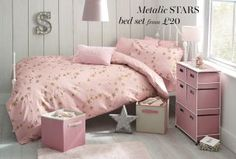 Buy Metallic Star Bed Set from the Next UK online shop