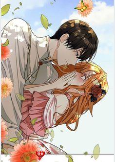<br> Manga Couple, Anime Love Couple, Anime Couples Manga, Cute Anime Couples, Otaku Anime, Manga Anime, Winter Woods Webtoon, Digital Art Anime, Romantic Manga