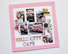 Hello Kitty Cafe layout from The Picinic Basket