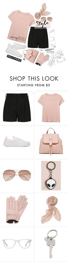 """School supplies"" by skybluesparrow ❤ liked on Polyvore featuring Yves Saint Laurent, Monki, H&M, Mario Portolano, Stella & Dot, Muse, BOBBY and Paul Smith"
